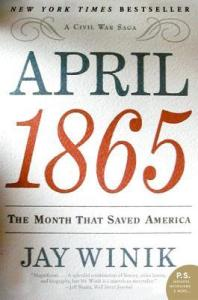 April 1865  book cover